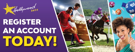 Register an account today with Hollywoodbets! Click here to register now! Or Contact Us if you need more assistance!